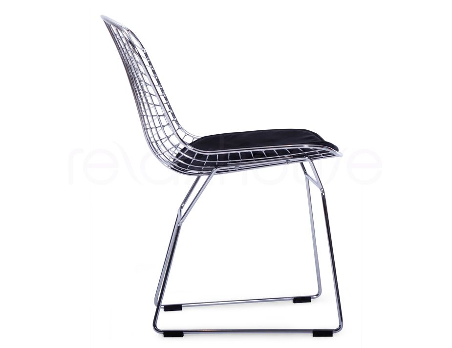Popular Of Bertoia Chair Replica With Wire Side Dining Chair Harry Replica  Bertoia Wire Side Chair