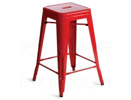 Red Tolix Stool