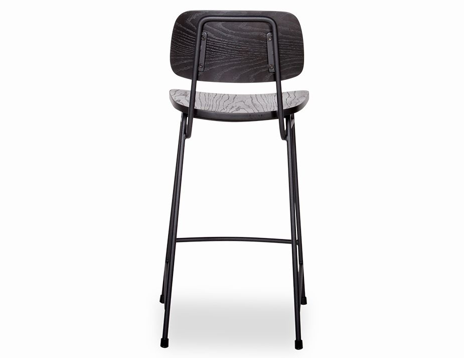Archie Stool Black Back