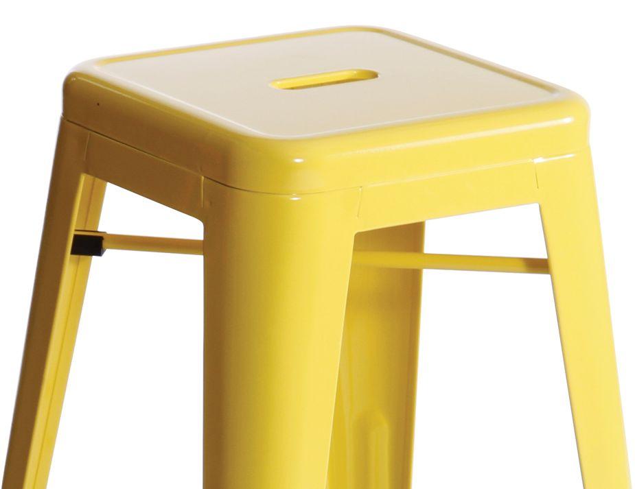 Replica Tolix Stool Yellow Modern Online Furniture Sydney