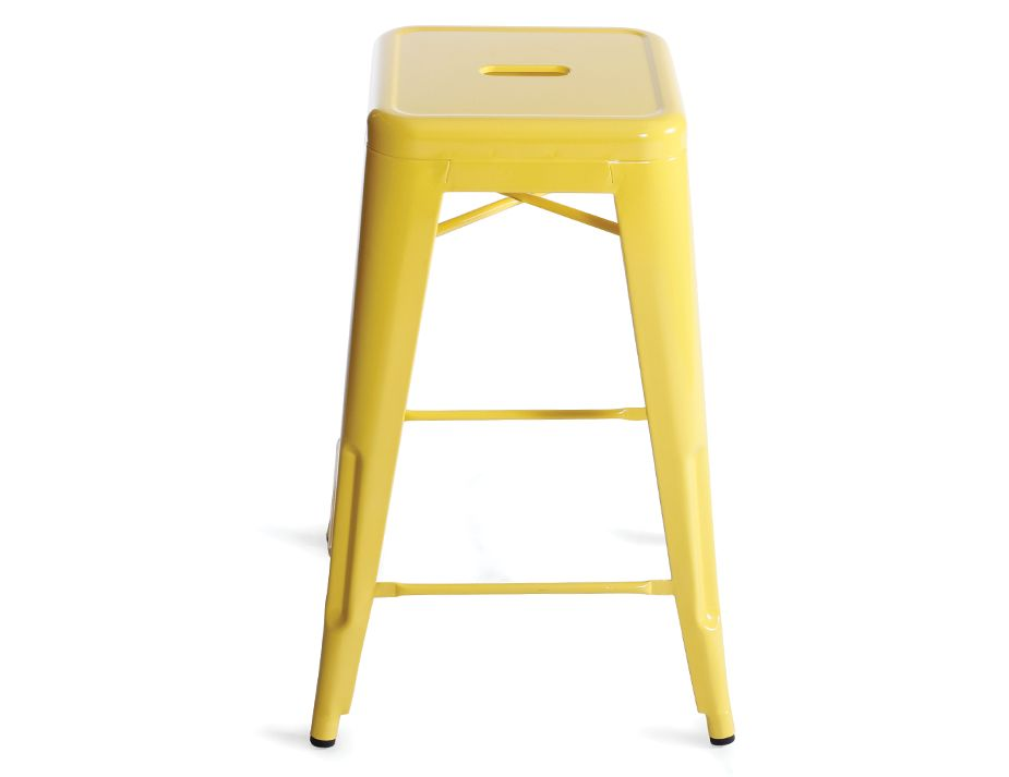 Replica Tolix Stool Yellow Modern Online Furniture Sydney