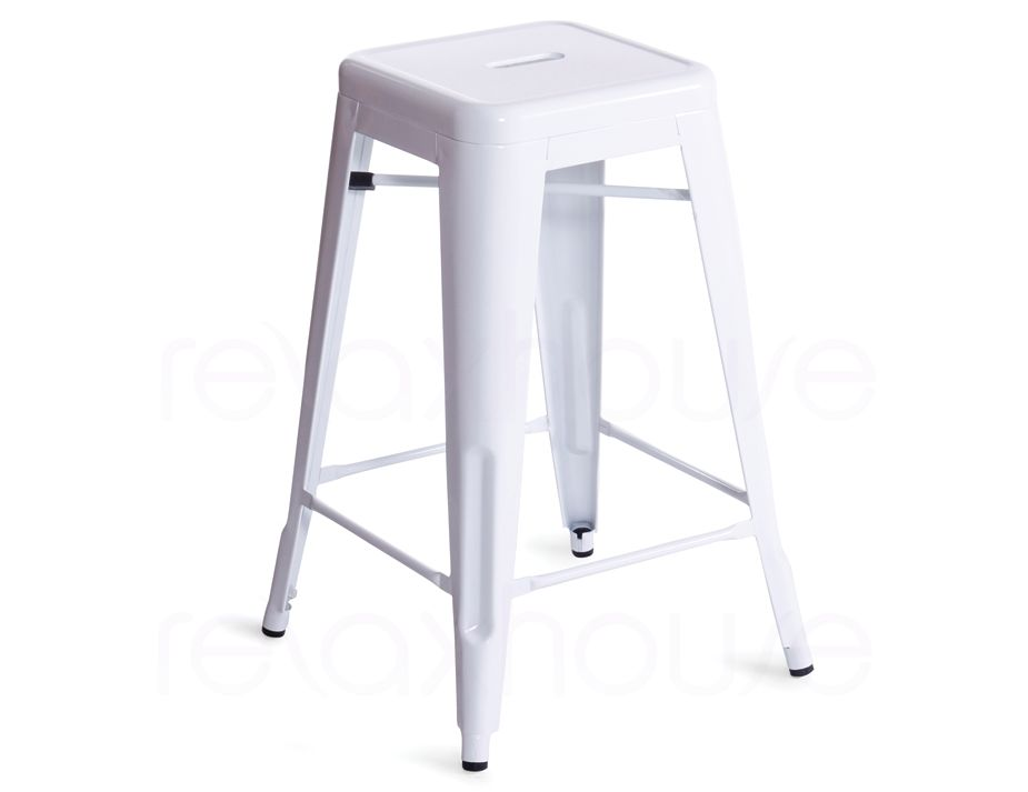white replica tolix bar stool. Black Bedroom Furniture Sets. Home Design Ideas