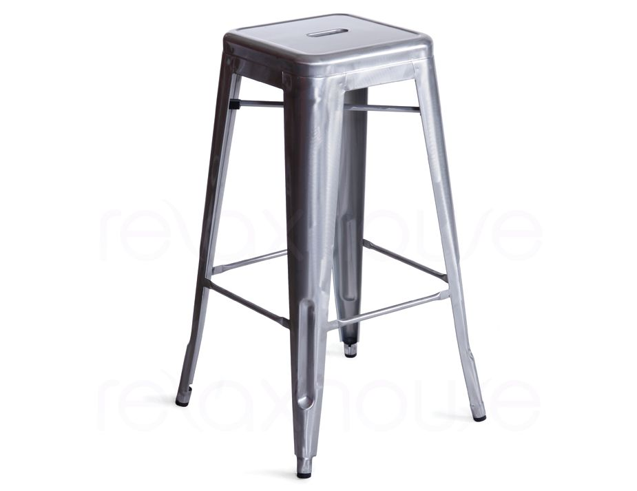replica tolix galvanized bar stool 75 xavier pauchard. Black Bedroom Furniture Sets. Home Design Ideas