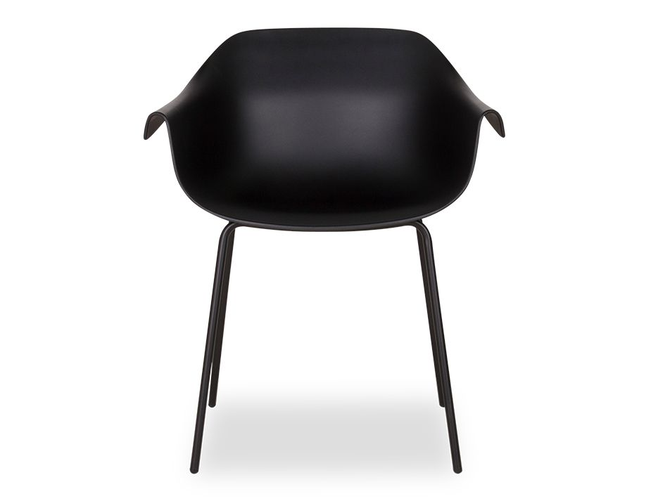 Rh_0036_black Crane Dining Chair With Post Legs3