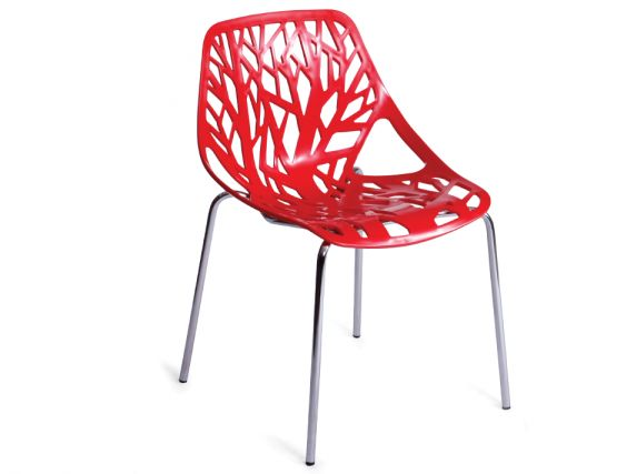 Red Replica Caprice Chair By Marcello Ziliani