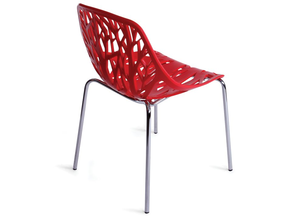 Red Caprice Chair