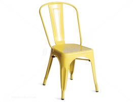 Replica Tolix Chair Yellow 2