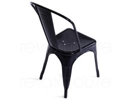 French Black Chair