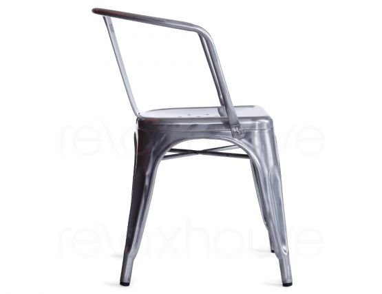 French Tolix Arm Chair