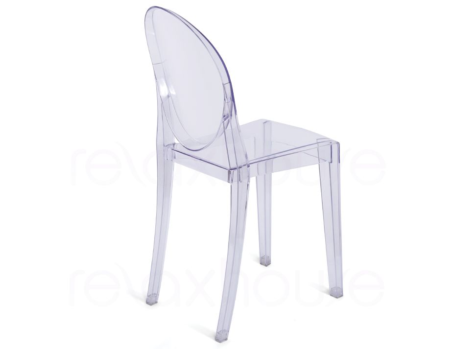 victoria ghost chair philippe starck clear transparent. Black Bedroom Furniture Sets. Home Design Ideas
