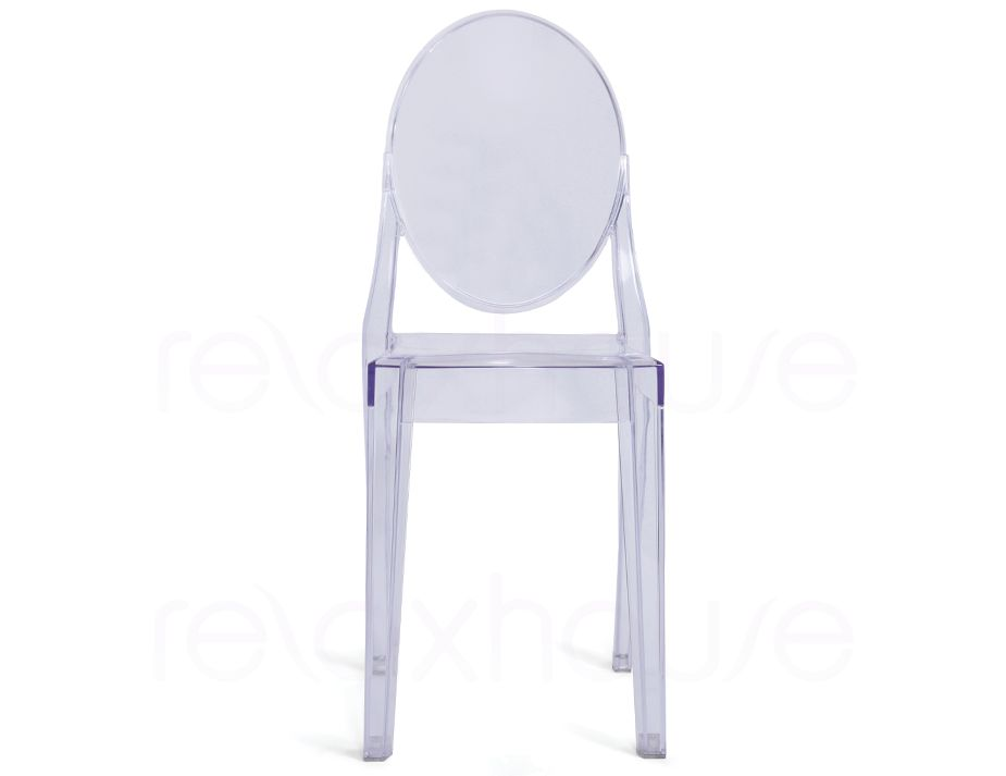 victoria ghost chair philippe starck clear transparent