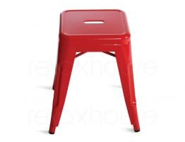 Red Small Bar Stool