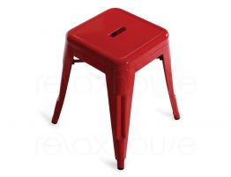 Red Stool Tolix Small