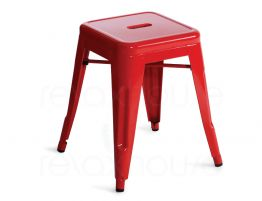 Red Tolix Stool 45