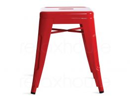 Small Red Bistro Stool