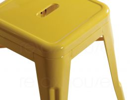Bright Yellow Tolix Stool