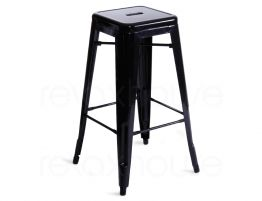 Tolix Stool Tall Black