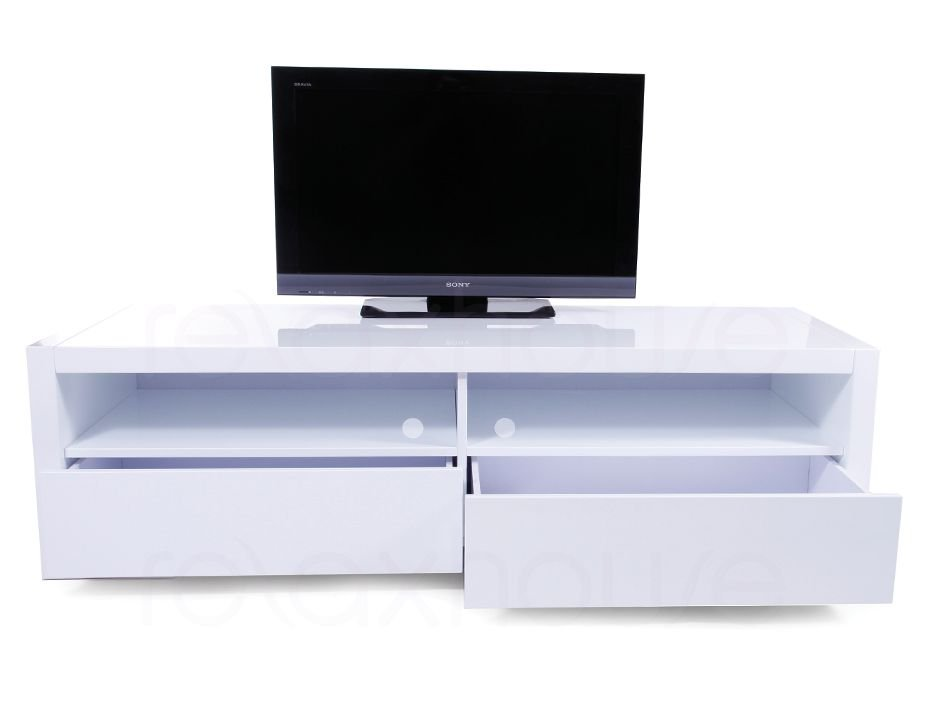 Modern Tv Entertainment Unit Tv Stand 160cm Gloss