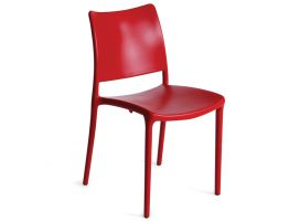 Red Cafe Outdoor Chair