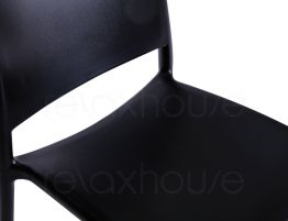 Black Outdoor Chair Seat
