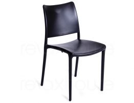 black-outdoor-chair