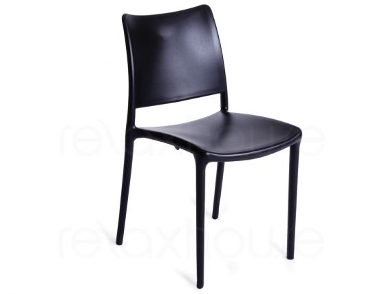 Black Outdoor Chair