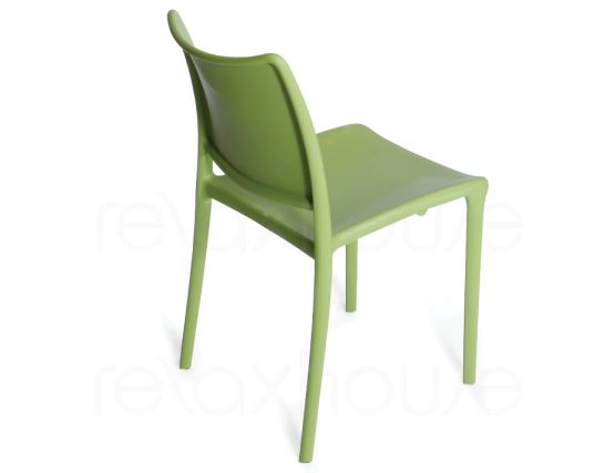 Outdoor Green Lime Dining Chair