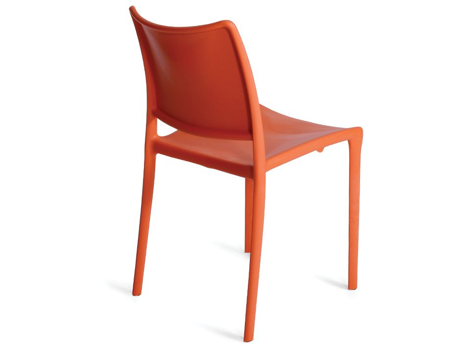 Orange Outdoor Dining Chair