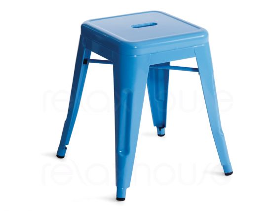 Small Blue Tolix Stool