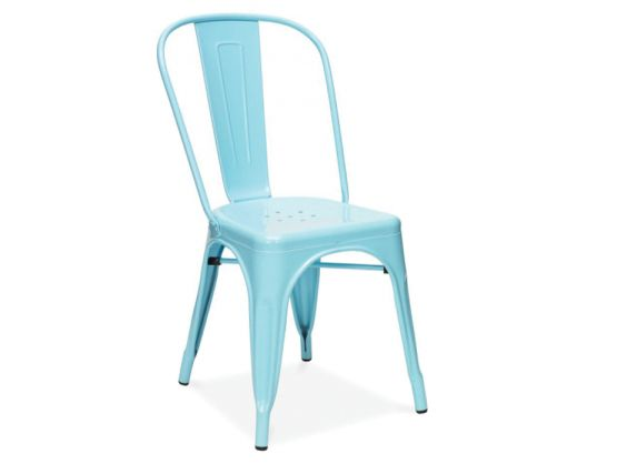 Replica Tolix Chair Babay Blue