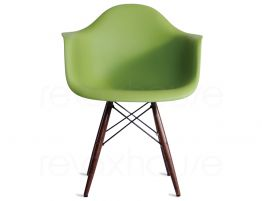397_Eames Chair Green Timber Legs