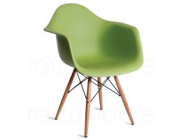 Eames DAW Green Wood
