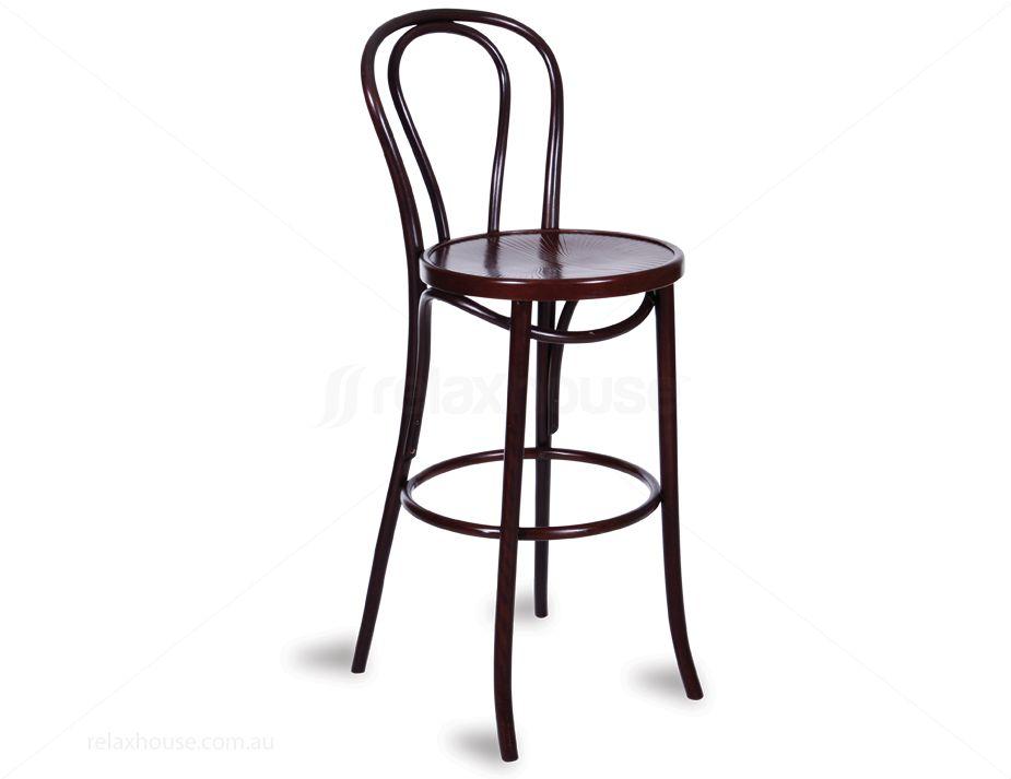 Michael Thonet No 18 Bentwood Timber Bar Stool : 432bentwood high bar stool from www.relaxhouse.com.au size 925 x 713 jpeg 37kB
