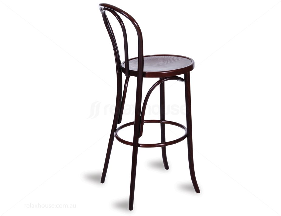 432_wood Bar Stool Thonet Thonet Bar Stool N33