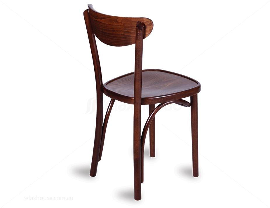 Original European Made Bentwood Roundback Chair Embossed Sunset Seat ...