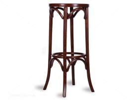 Walnut Bentwood Cafe Stool