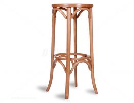 Natural Bentwood Stool