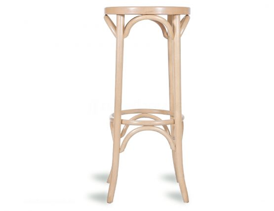 Bentwood_80cm_Stool_Embossed_Seat__Thonet_Designed__Natural_6