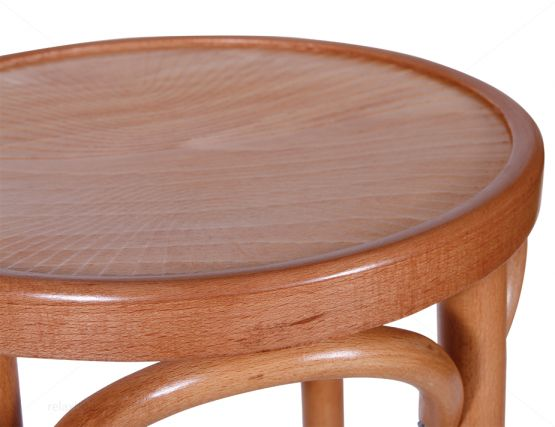 Bentwood Stool Seat Natural