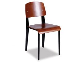 Standard-Chair-Black-Brown-Seat