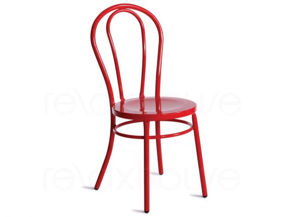 Red Thonet Vienna Chair