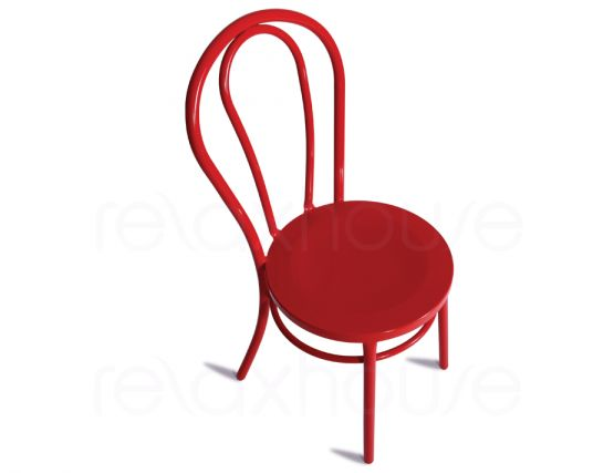Modern Red Chair Thonet