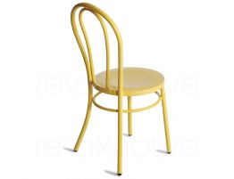 Yellow Bentwood Outdoor Chair