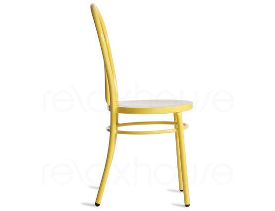 Bentwood Yellow Outdoor Chair