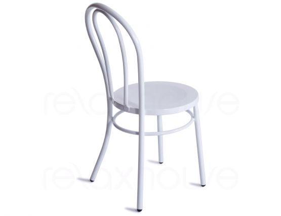 Metal Thonet Vienna Chair White