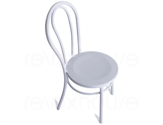White Outdoor Chair Steel