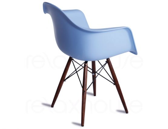Blue Timber Chair