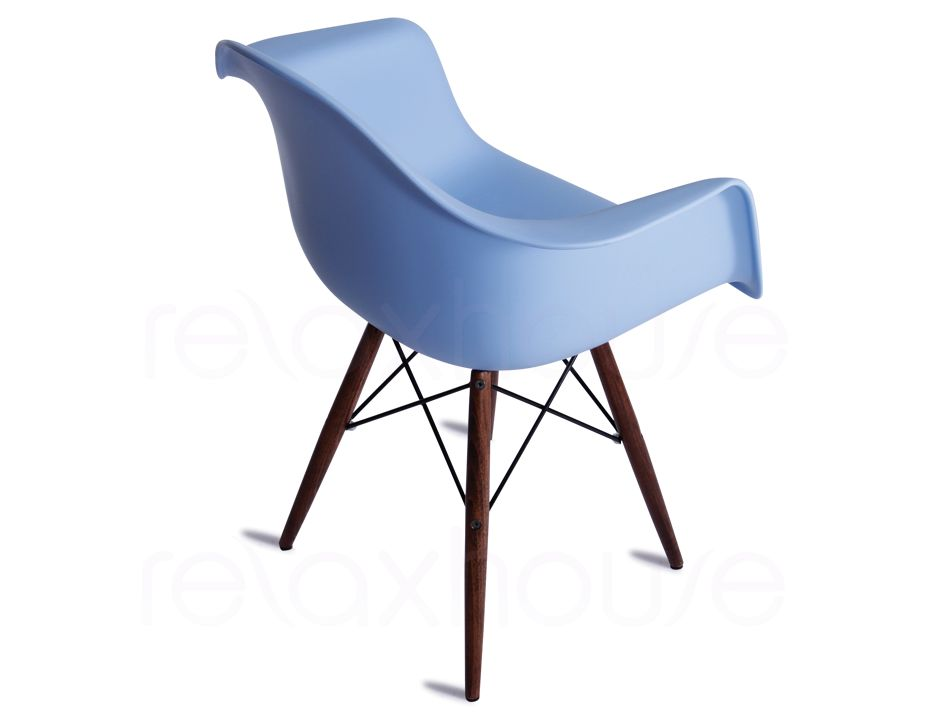 Modern eames arm chair blue - Eames eiffel chair replica ...