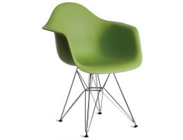 Eames DAR Steel Green