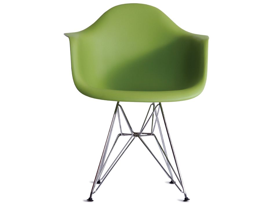 Green Eames DAR Eiffel Chair